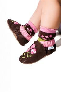 Des chaussons souples parfaitement adaptés pour bébé